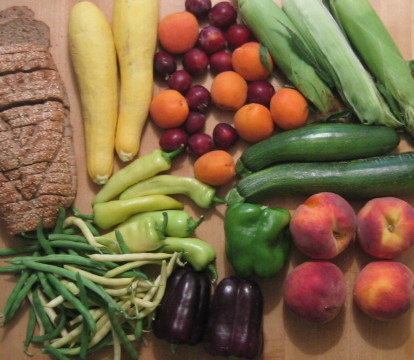 vegetables from Aspen Market