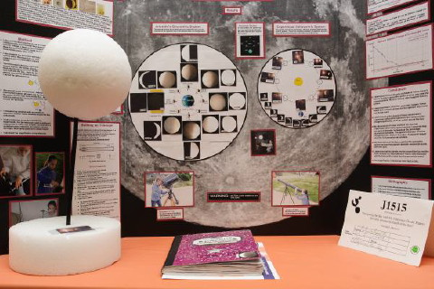 display of the project of Victoria Hutchins