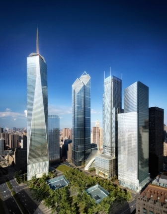 world trade center site overview