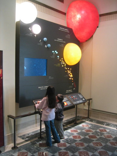 main sequence exhibit