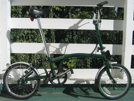 the ever-fabulous brompton bike