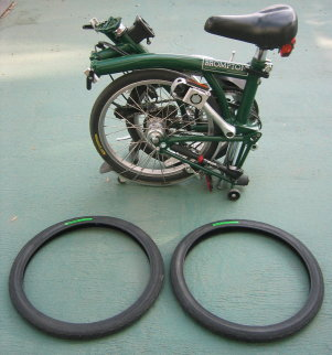 new tyres for brompton