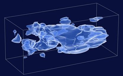 hubble 3d dark matter
