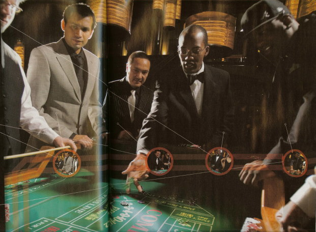 casino royale shoot
