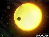 corot's planet