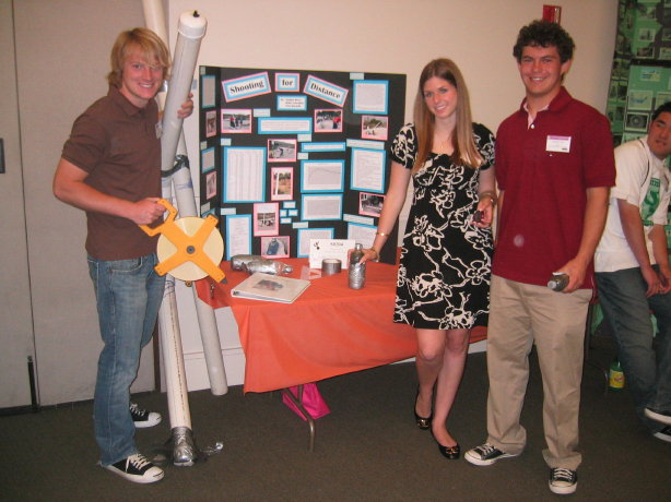 science fair students