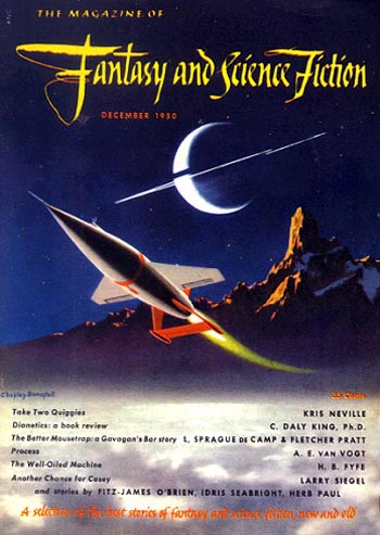 Chesley Bonestell fifties science fiction spaceship