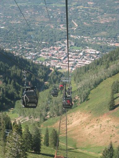 aspen from gondola