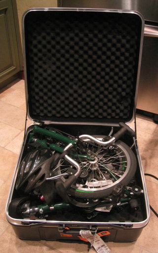 hard case for the Brompton