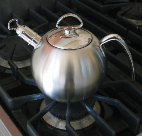 consider a spherical kettle