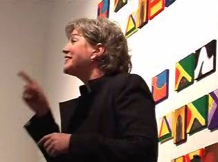 Julia Sweeney during a Categorically Not! event