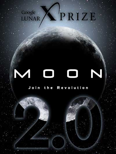 google lunar x-prize poster