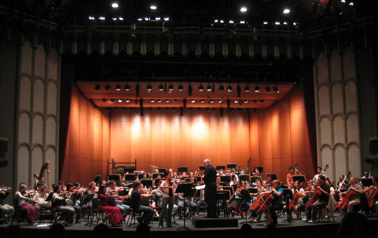 John Williams in Rehearsal