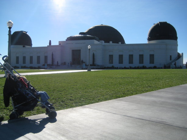 Griffith observatory grounds