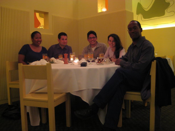 correlations meetup dinner