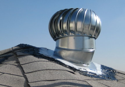 roof vent spinning thing