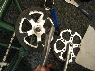 bike crank fix