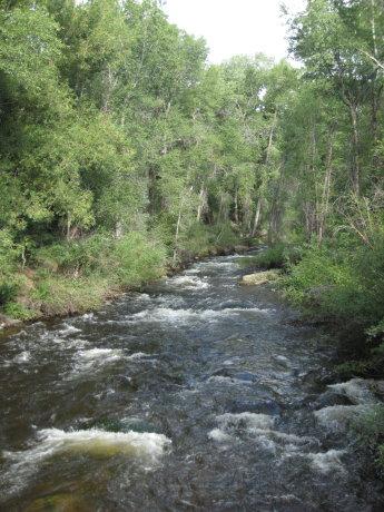 river in aspen