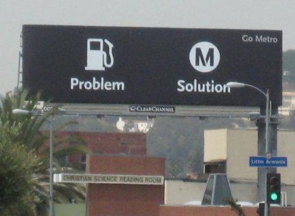 metro ad in la