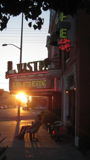 vista theater on sunset boulevard