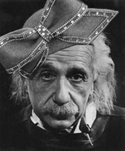 Albert Einstein in Aretha Franklin s Inauguration Hat