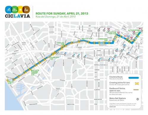 ciclavia_April_2013_map