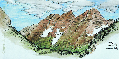 maroon_bells_sketch_10_aug_2014