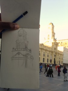 sketch_in_progress_museum_chile