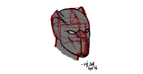 quick_sketch_of_black_panther